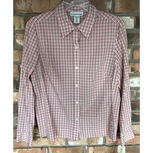 Evan Picone Button Down Top     Size Large